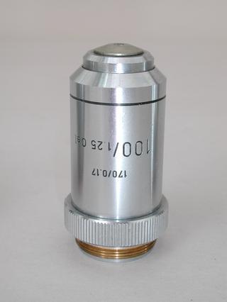 Leitz 100x Oel Microscope Objective