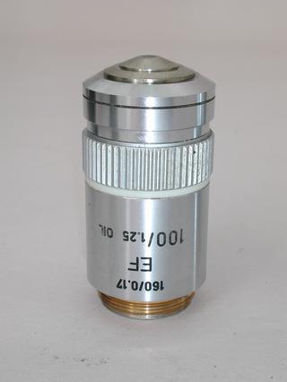 Leitz EF 100x Oil Microscope Objective