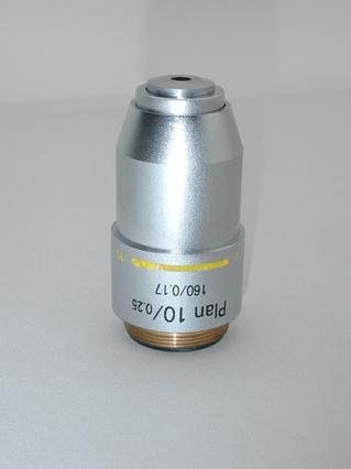 Plan 10x Microscope Objective 160/0.17