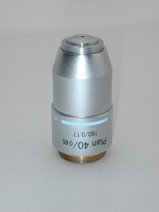 Plan 40x Microscope Objective 160/0.17