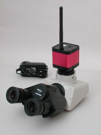 Nikon Trinocular Head w/ WiFi Camera
