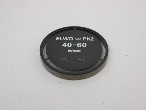 Nikon Extra Long Working Distance Phase Contrast 40-60 insert