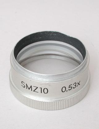 Nikon SMZ-10 0.53x Auxiliary. Microscope Objective.
