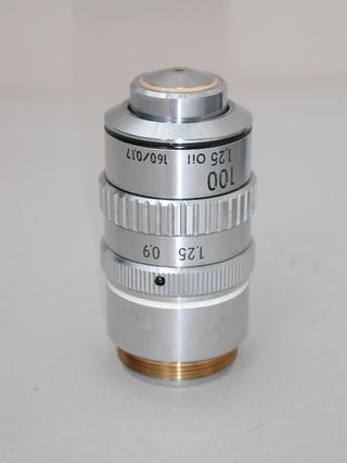 Nikon 100x Oil Iris Microscope Objective