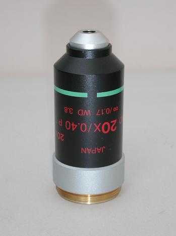 Nikon 20x P Long Working Distance Infinity Microscope Objective