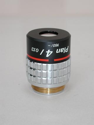 Nikon CFN Plan 4x Microscope Objective