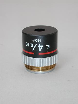 Nikon E 4x Microscope Objective