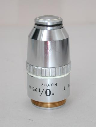 Nikon E Plan 100x Oil Microscope Objective