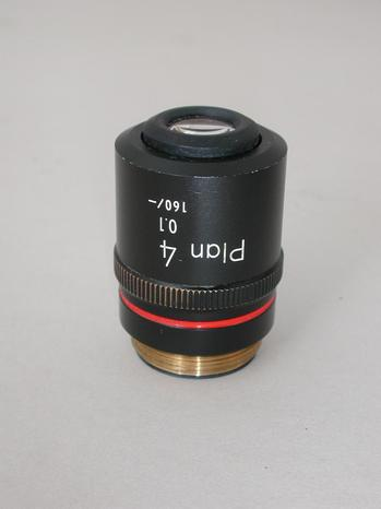 Nikon Plan 4x Microscope Objective