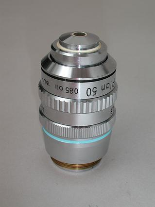 Nikon CFN Plan 50x Iris Oil Microscope Objective