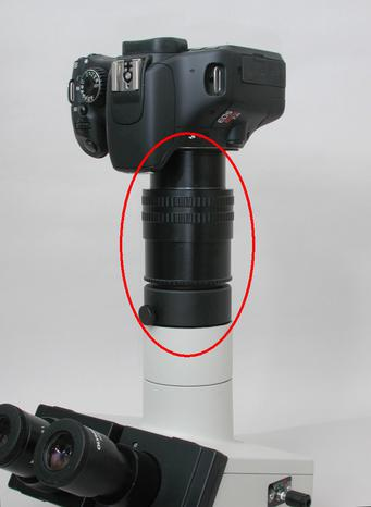 Olympus Zooming DSLR Camera Adapter Tube