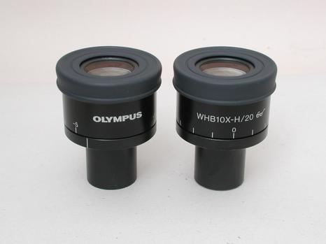 Olympus WHB 10x H/20 Eyepieces