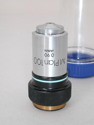 Olympus M Plan 100x Microscope Objective