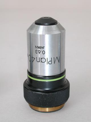 Olympus M Plan 40x Microscope Objective