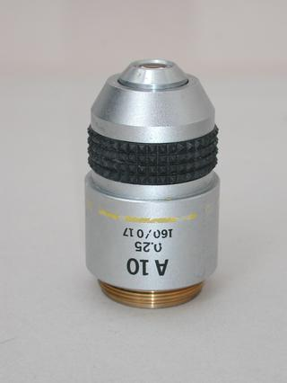 Olympus A 10x Microscope Objective