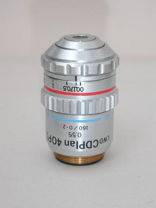 Olympus Long Working Distance CDPlan 40PL 40x Microscope Objective