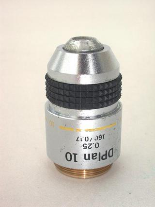 Olympus Dplan 10x Microscope Objective