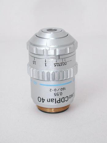 Olympus Olympus Long Working Distance CDPlan 40x Microscope Objective