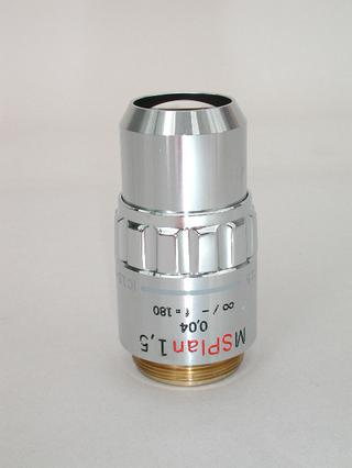 Olympus MS Plan 1.5x Microscope Objective