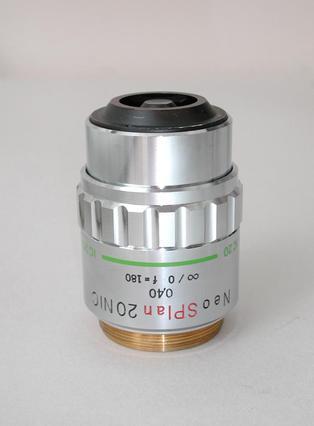 Olympus Neo SPlan 20x Nomarski Interference Contrast Microscope Objective
