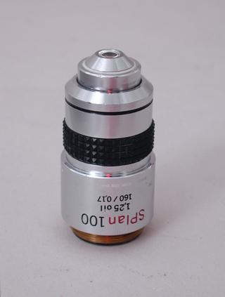 Olympus SPlan 100x Microscope Objective