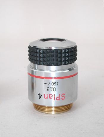 Olympus SPlan 4x Microscope Objective