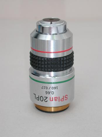 Olympus Splan 20x PL Microscope Objective